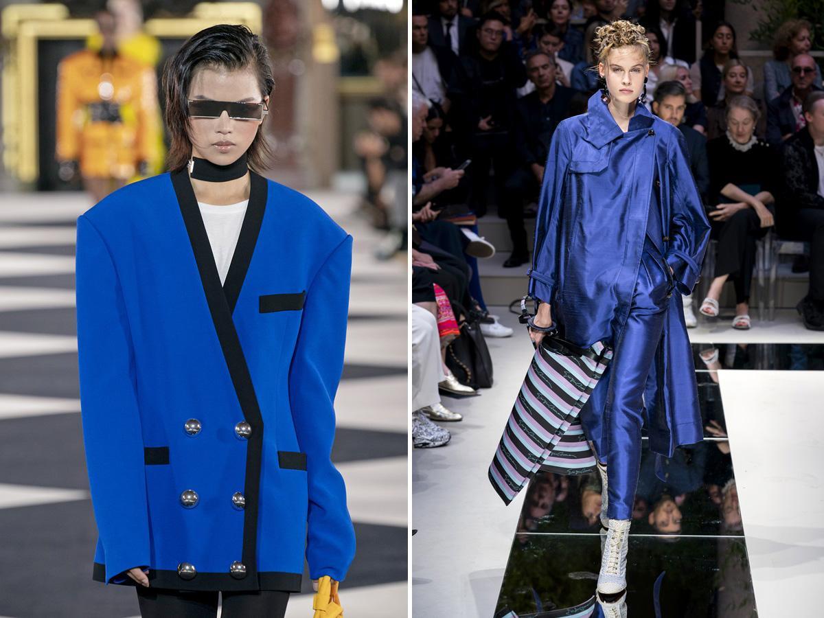 modne kolory wiosna lato 2020 classic blue