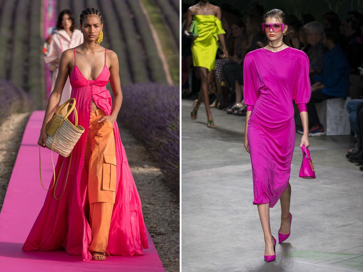 modne kolory wiosna lato 2020 różowy