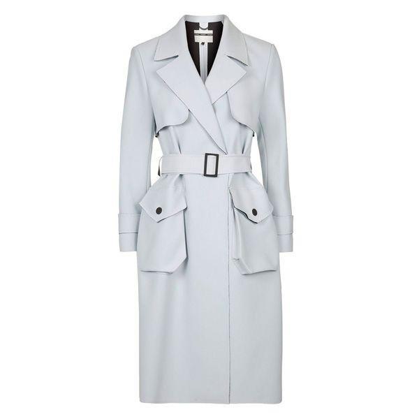 Błękitny płaszcz Topshop, cena