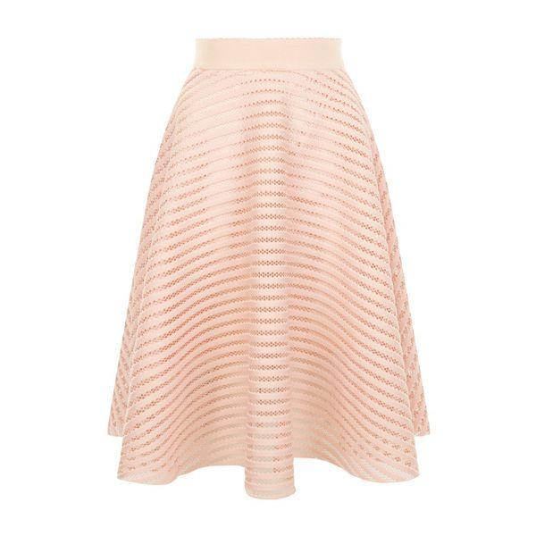 Pudrowo różowa spódnica New Look, cena