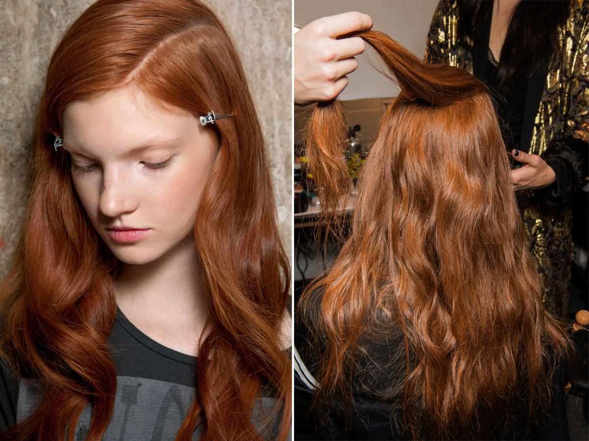 Modne kolory włosów cynamonowy