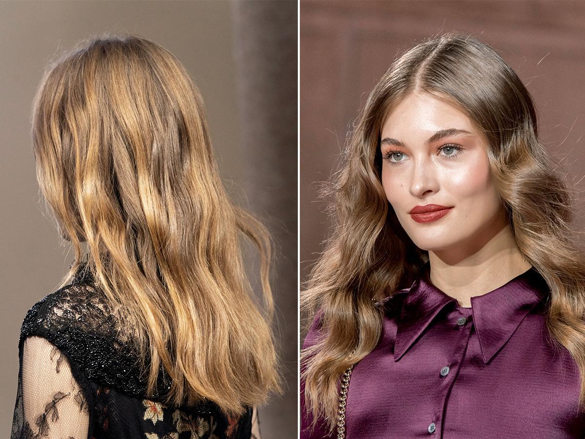 Modne kolory włosów brond