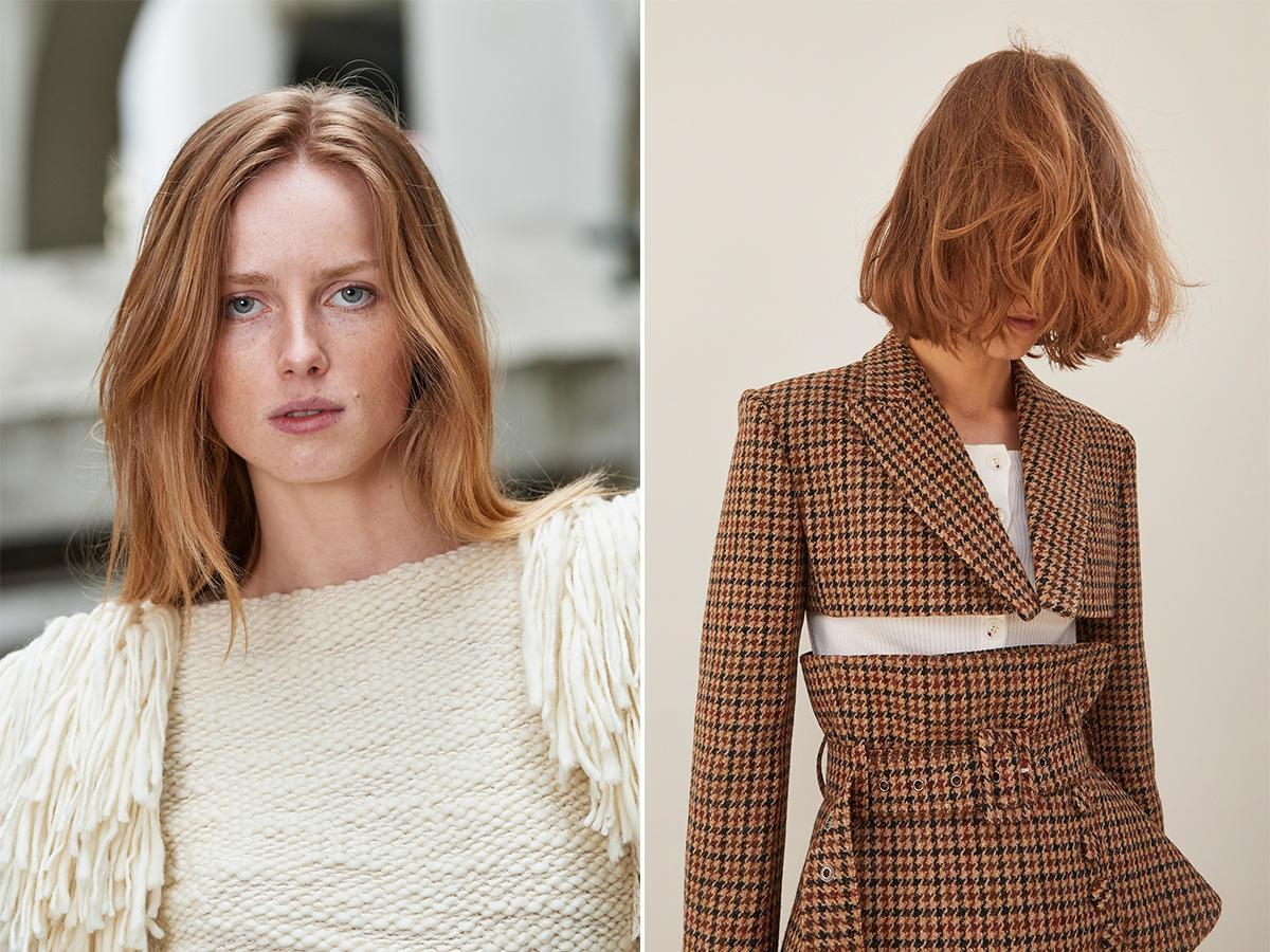 truskawkowy blond jesień zima 2021 2022