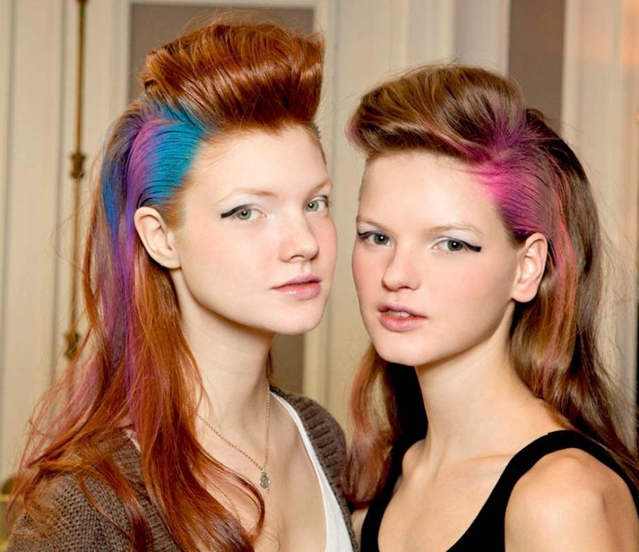 Modne kolory włosów jesień 2012: Czekolada
