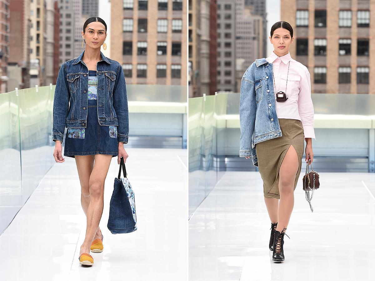 kurtki jeansowe jesień 2021
