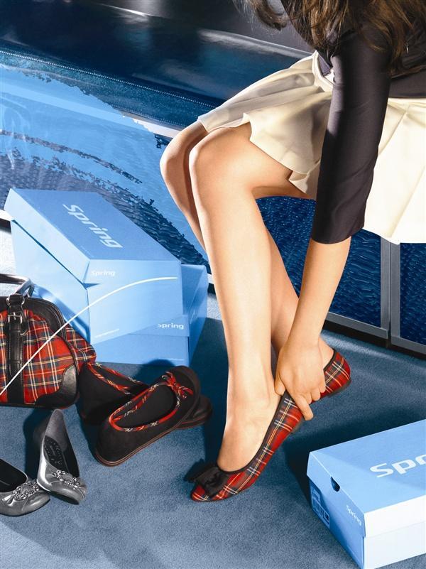 Modne obuwie Spring - zdjęcie