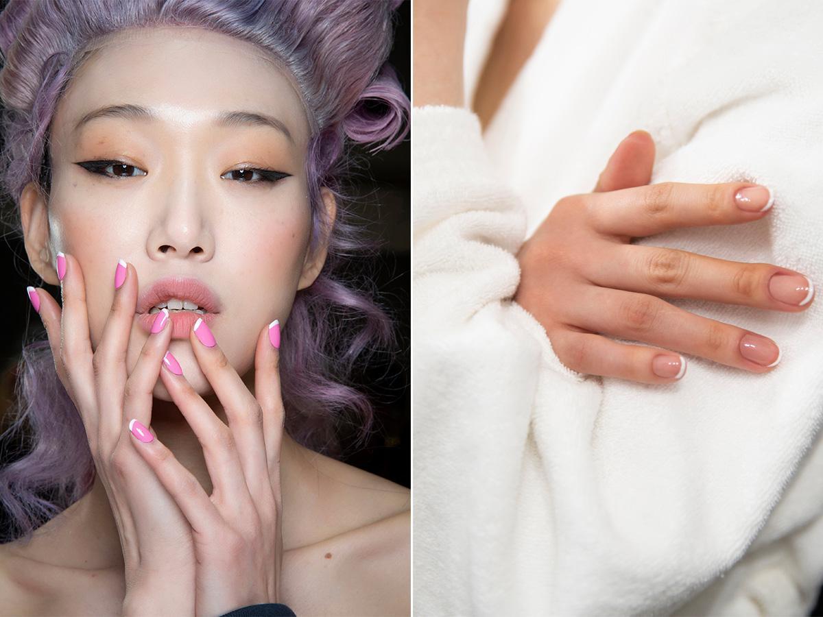 modny manicure french 2020/2021