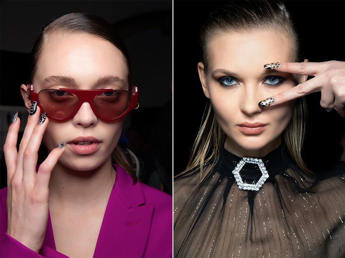 modny manicure wzory 2020/2021