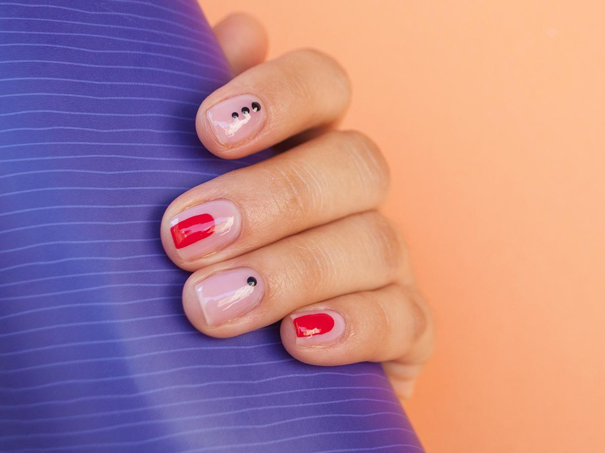 wzory na paznokciach hybrydowych 2021 2022