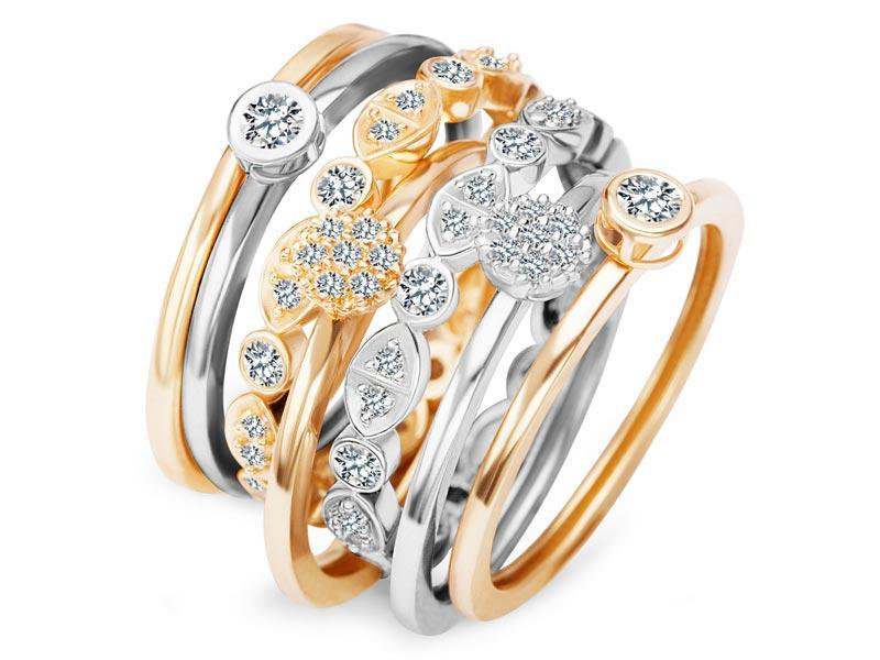 modne pierścionki, Yes, 2012