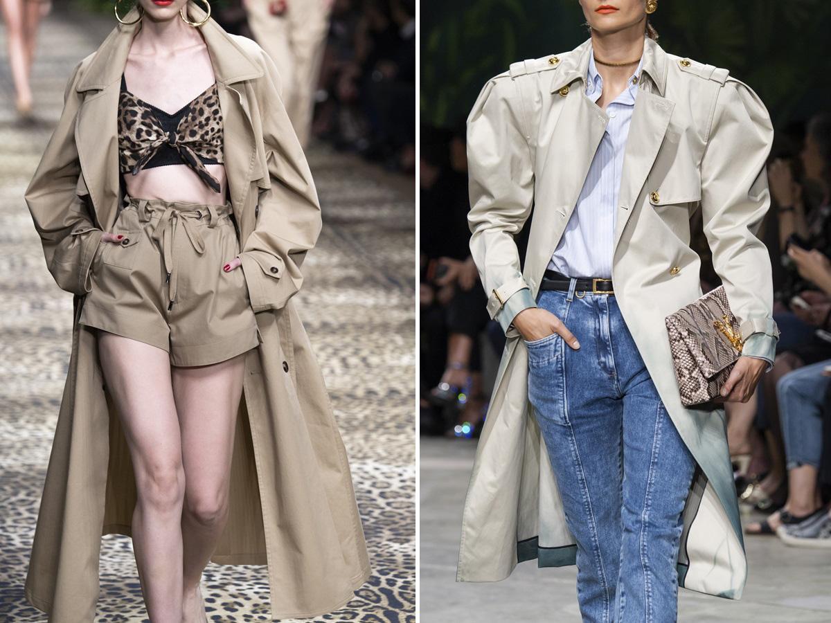 modne płaszcze na wiosną 2020 trencze