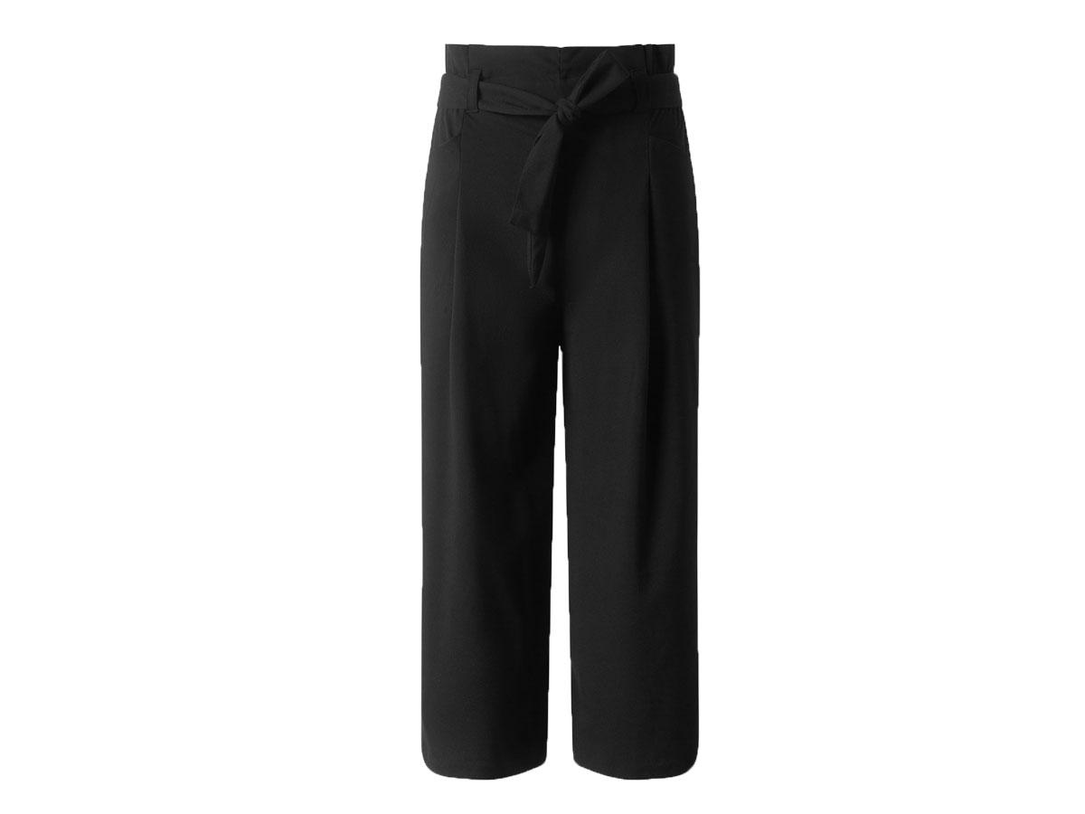 Czarne spodnie kuloty, C&A, cena ok. 69,90 zł