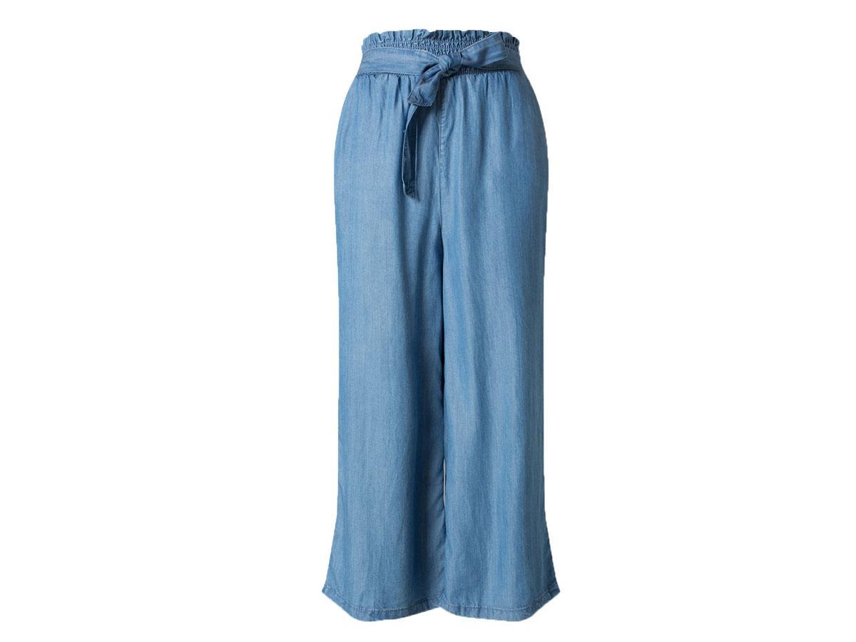 Spodnie z szerokimi nogawkami, C&A, cena ok. 69,90 zł
