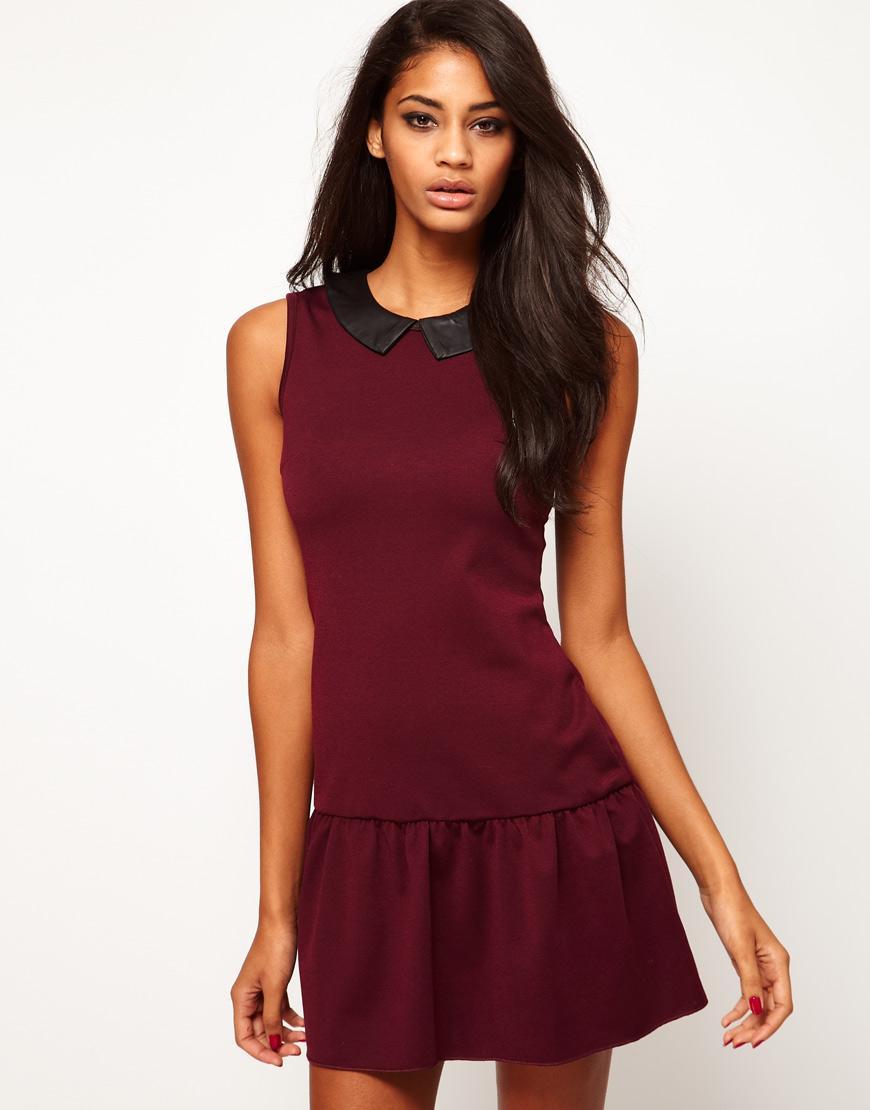 8469848054 sukienka wieczorowa Asos w kolorze bordowym - zima 2012 13 - Modne ...