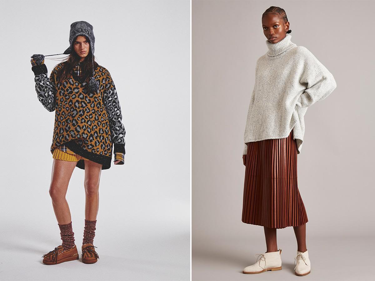 swetry oversize jesień 2021