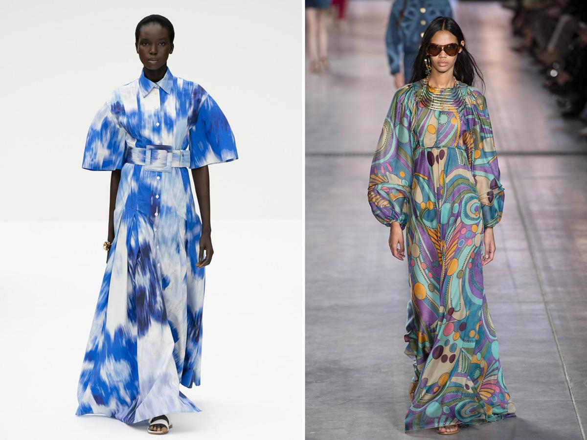 modne wzory wiosna lato 2020 malarskie motywy
