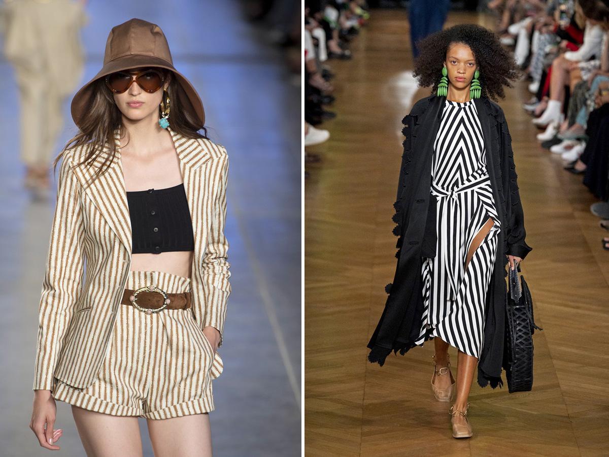 modne wzory wiosna lato 2020 paski