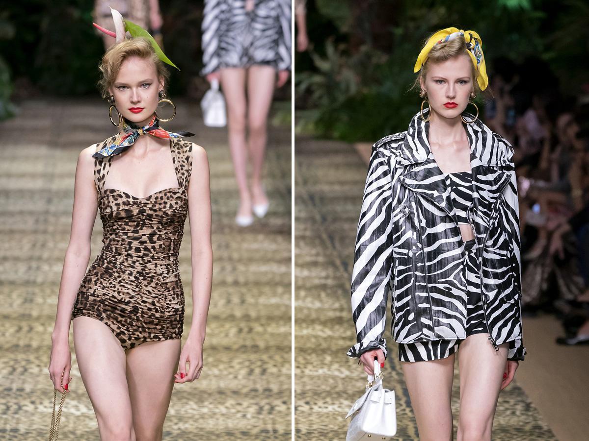 modne wzory wiosna lato 2020 zwierzęce wzory