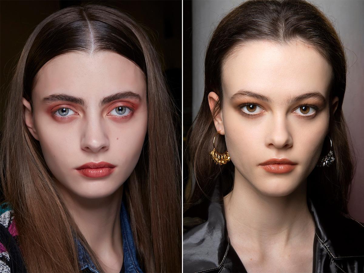 monochromatyczny makijaż 2020