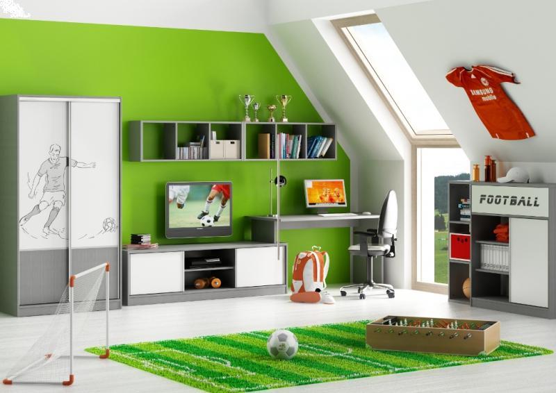 pomys owy pok j dzieci cy meblik modny pok j dla ch opca meblik dom aran acje wn trz. Black Bedroom Furniture Sets. Home Design Ideas