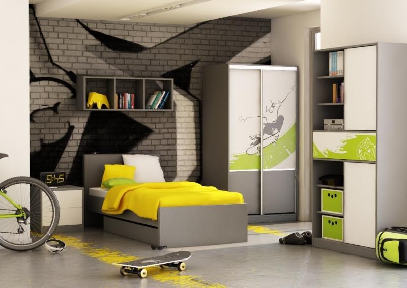 kreatywny pok j dzieci cy meblik modny pok j dla ch opca meblik dom aran acje wn trz. Black Bedroom Furniture Sets. Home Design Ideas