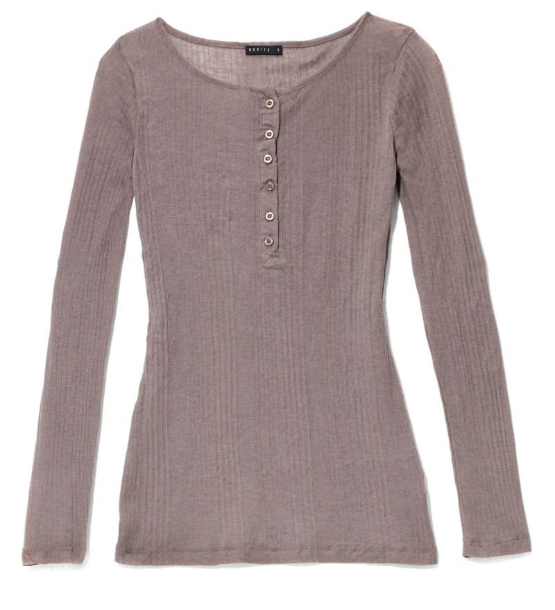 brązowa bluzka Mohito - moda jesień/zima 2010