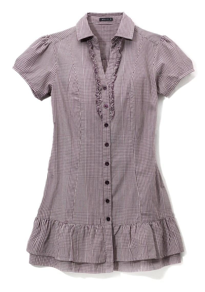 bluzka Mohito w kratkę - jesień/zima 2010/2011