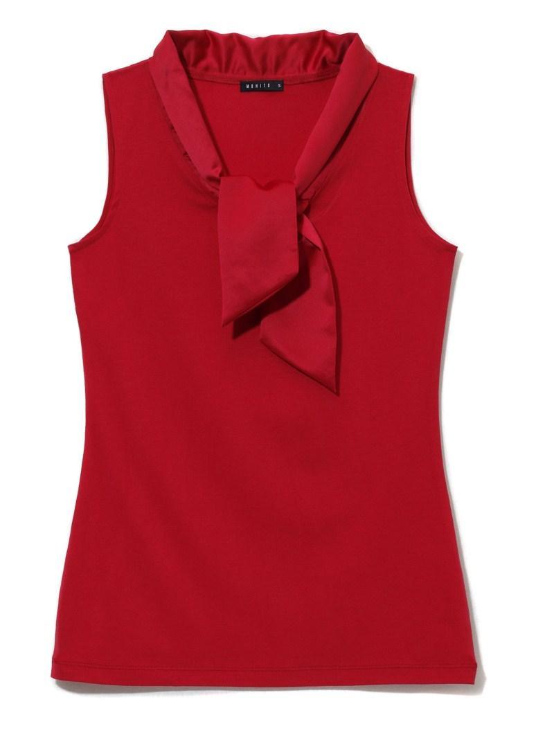 czerwona bluzka Mohito - jesień/zima