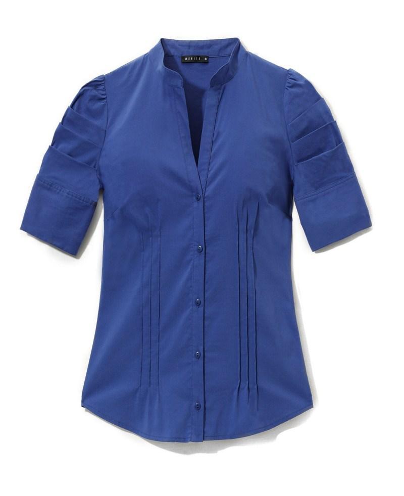 niebieska bluzka Mohito - kolekcja jesienna