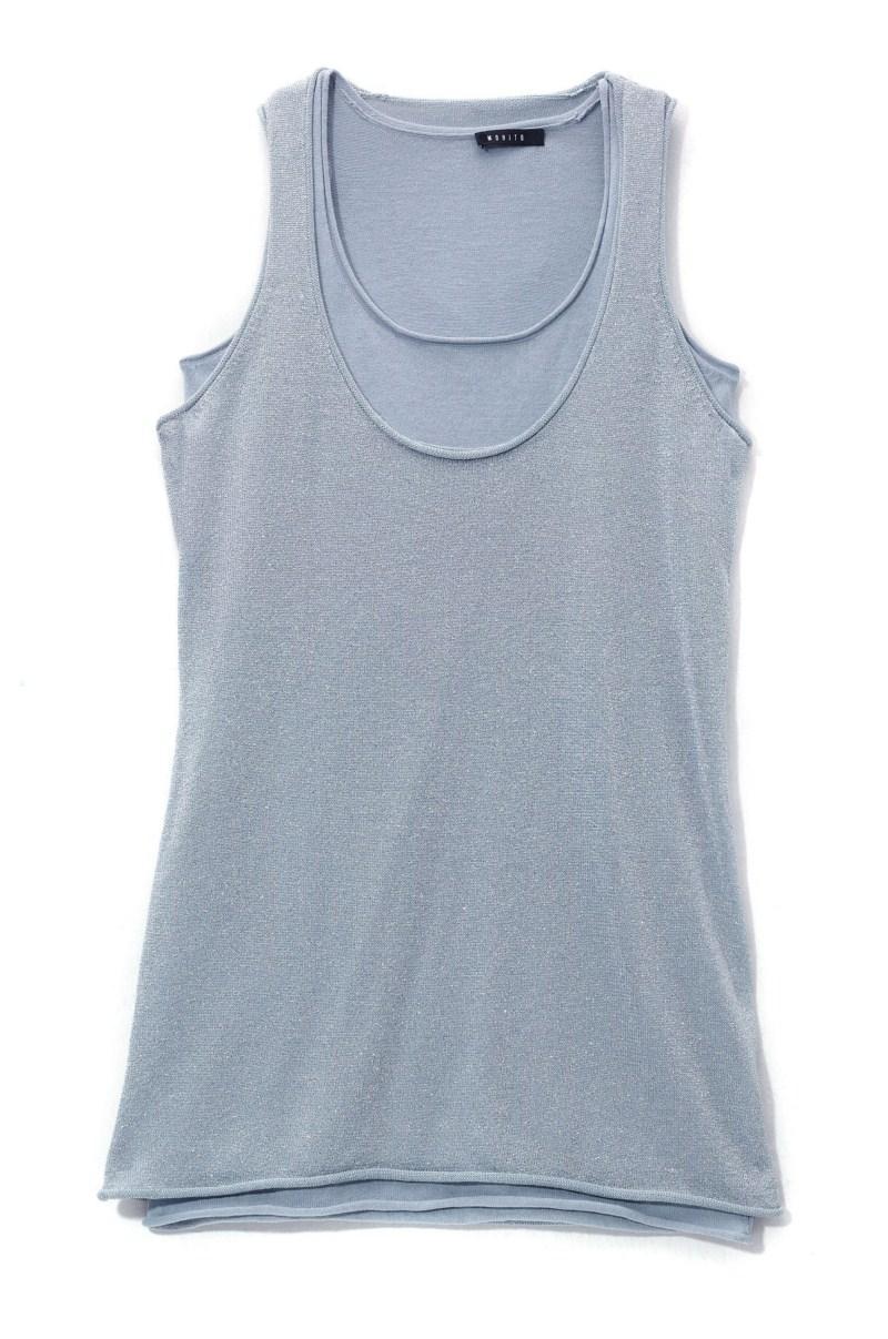 szara koszulka Mohito - moda zimowa