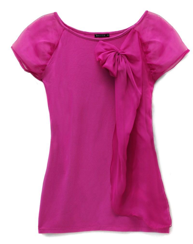 różowa bluzka Mohito - jesień-zima 2010/2011