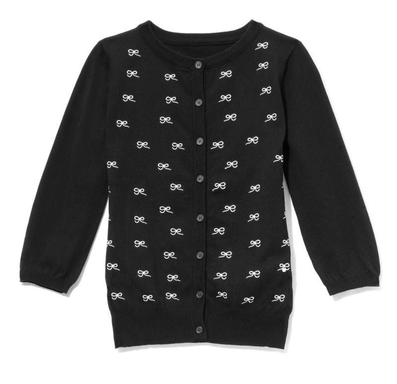 czarny sweter Mohito rozpinany - jesień-zima 2010/2011