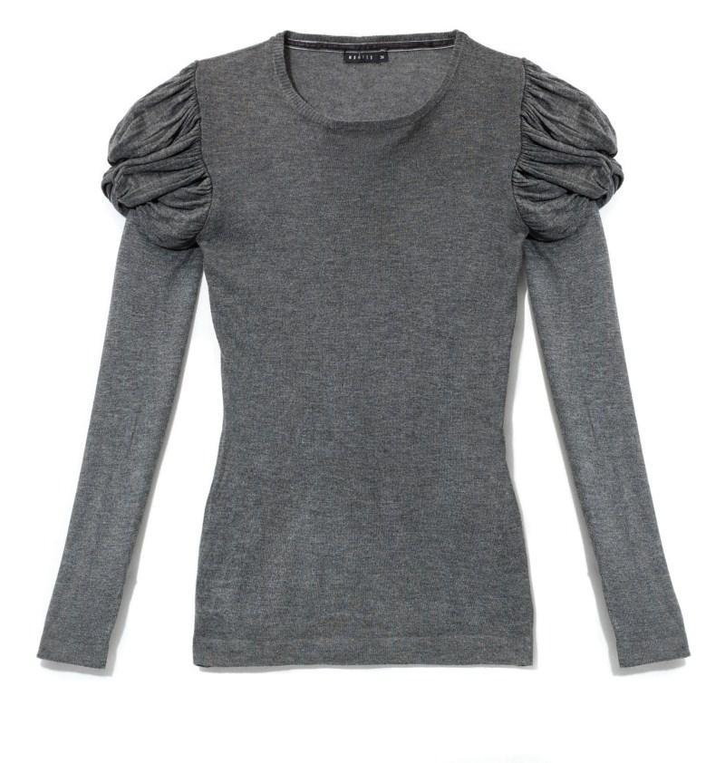popielata bluzka Mohito - jesień-zima 2010/2011