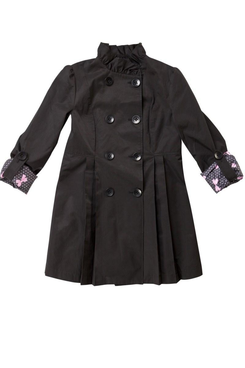 czarny płaszcz Mohito - sezon wiosenno-letni