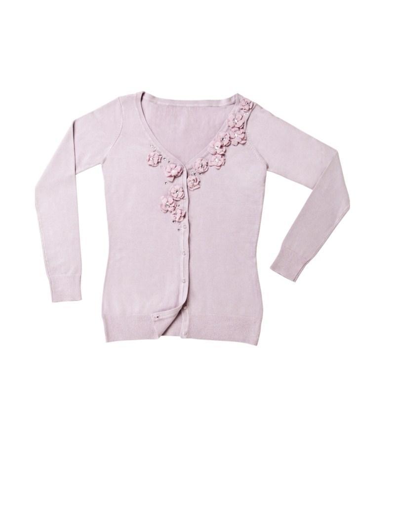 różowy sweter Mohito rozpinany - wiosna/lato 2011