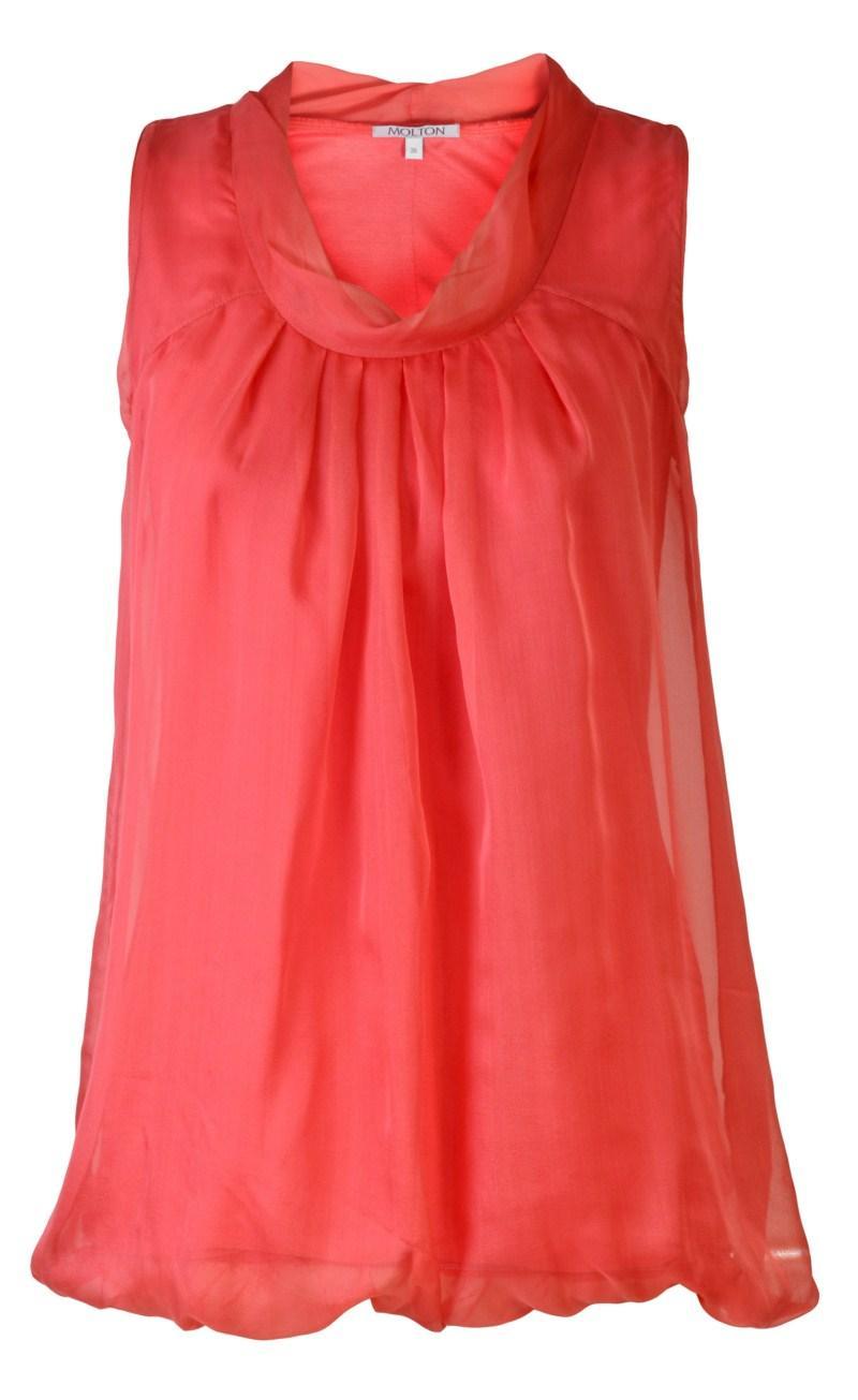 czerwona bluzka Molton - wiosna/lato 2011