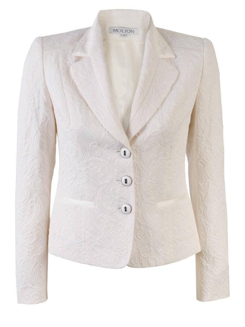 biały żakiet Molton - wiosna/lato 2011
