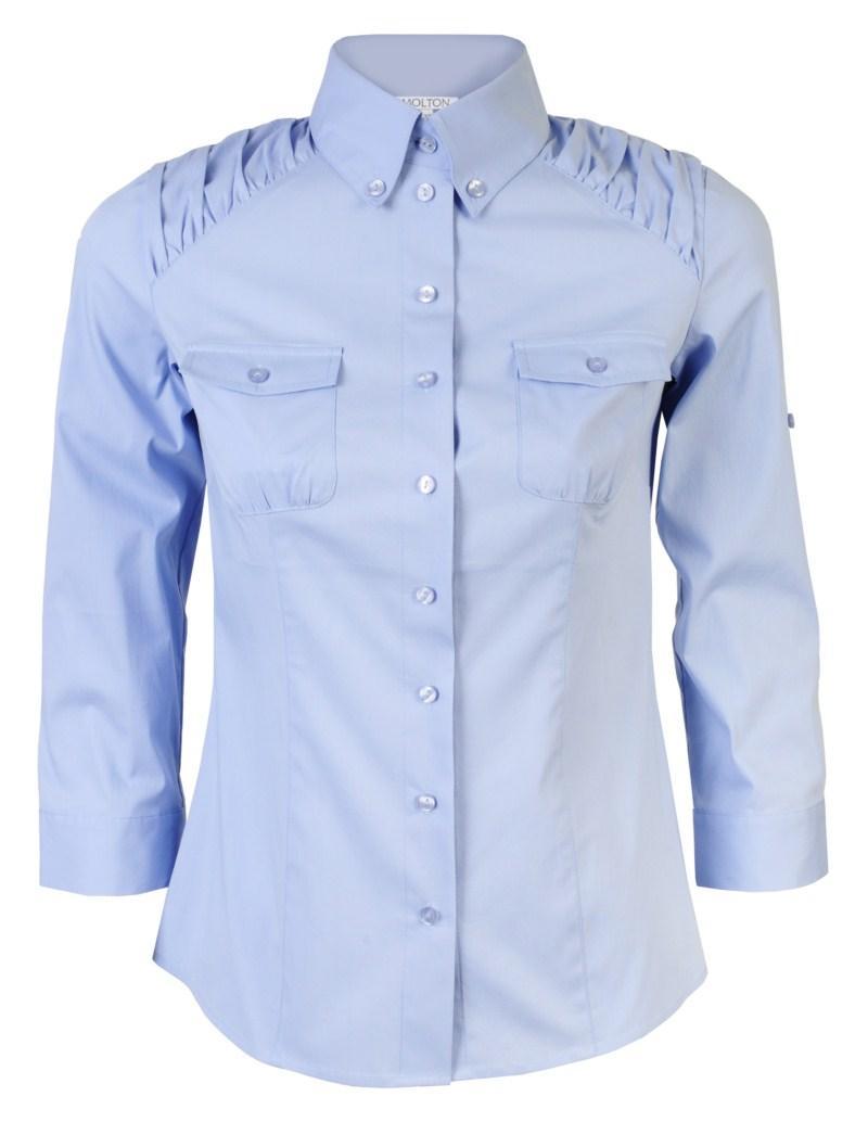 błękitna koszula Molton - wiosna/lato 2011