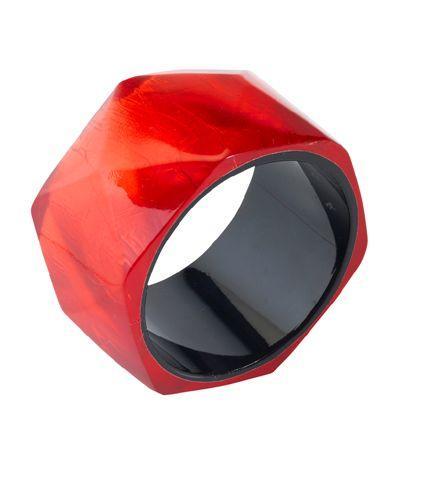 czerwona bransoletka Monnari - moda 2011