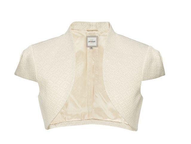 białe bolerko Monnari - trendy wiosna-lato