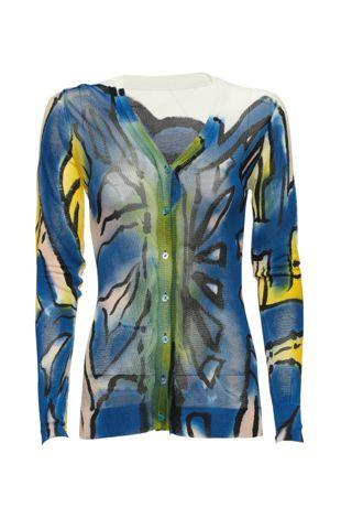 kolorowy sweter Monnari rozpinany - wiosenna kolekcja