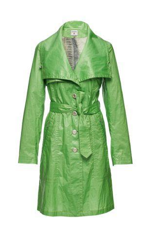 zielony płaszczyk Monnari - wiosna/lato 2011