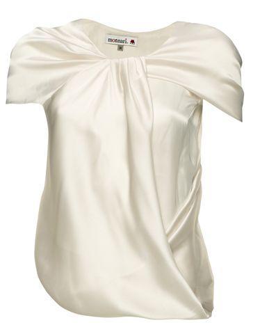 biała bluzka Monnari - wiosna/lato 2011