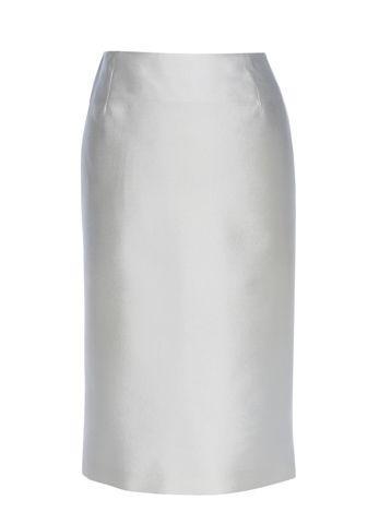 biała spódnica Monnari ołówkowa - z kolekcji wiosna-lato 2011