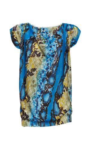 kolorowa bluzka Monnari - z kolekcji wiosna-lato 2011