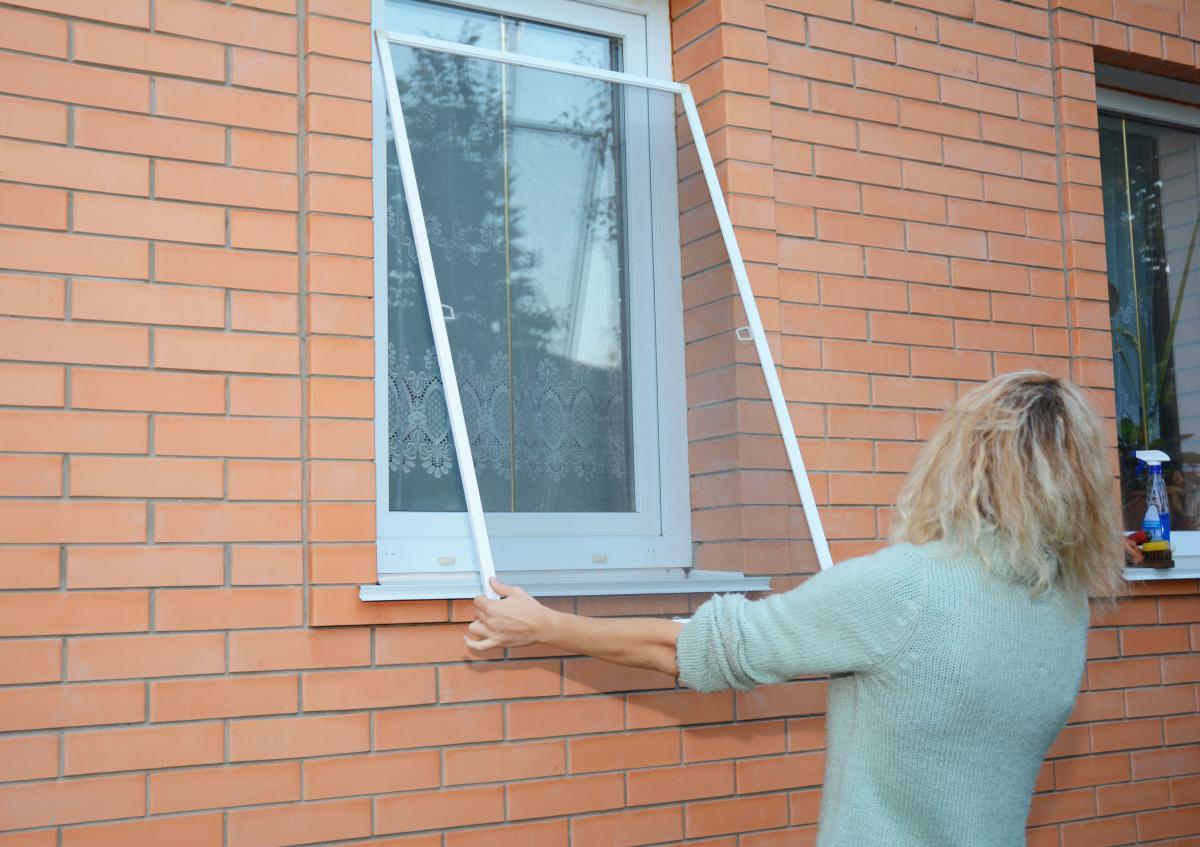 Moskitiera na okno ramkowa