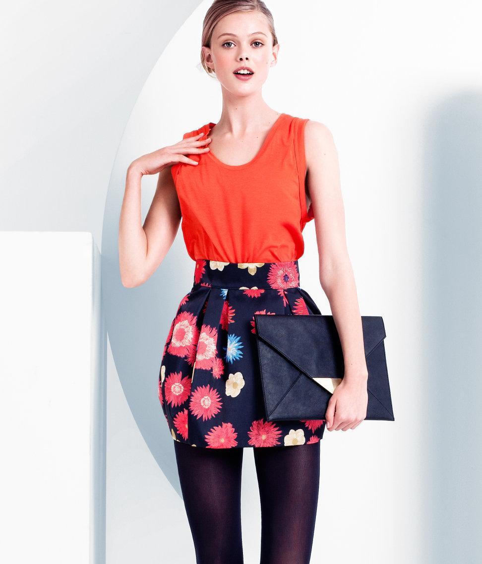 Motywy kwiatowe - ubrania i dodatki 2011/2012