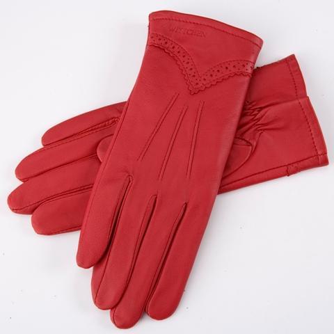 Wittchen, czerwone rękawiczki