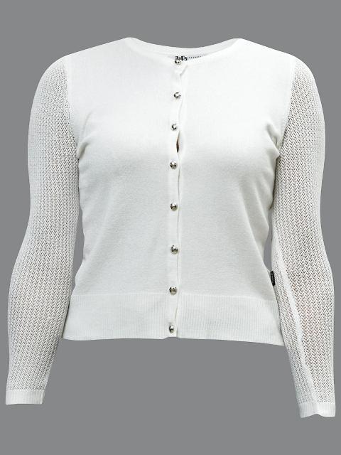 GaPa Fashion, biały sweterek