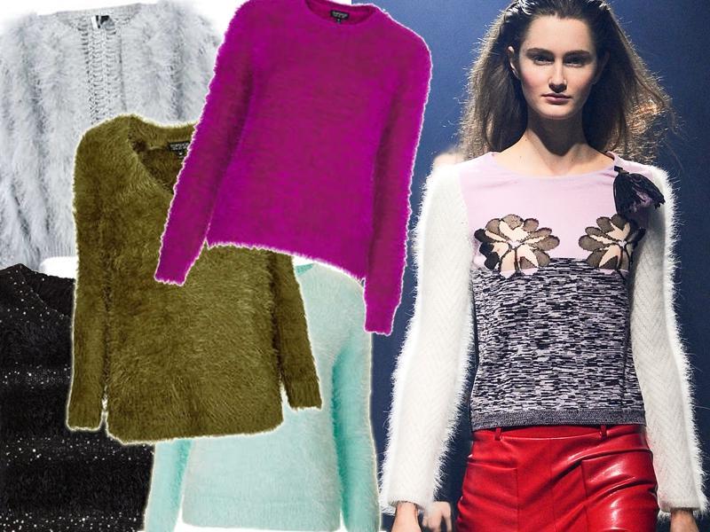 Pluszowe swetry